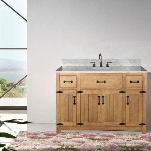 "Legion Furniture 48"" Bathroom Vanity Front View WLF6044-48"