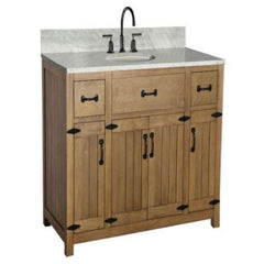 "Legion Furniture 48"" Bathroom Vanity WLF6044-48 Side Front View"