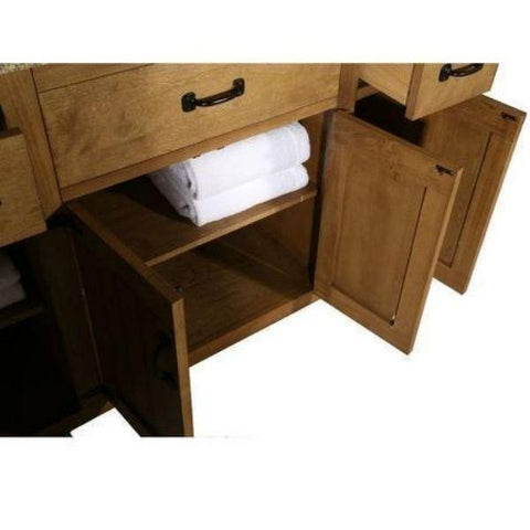 "Legion Furniture 48"" Bathroom Vanity WLF6044-48Storage View"
