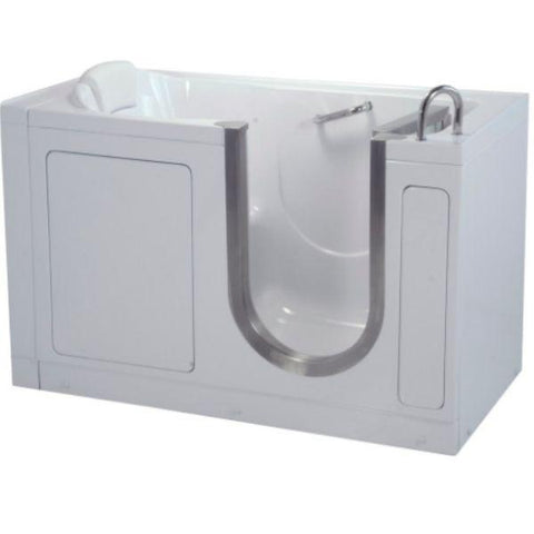 Mobility Bathworks Bathtubs Soaker Mobility Bathworks Acrylic Walk-in Bathtub 3055 Front Side View