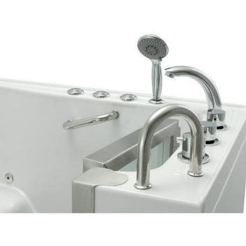 Mobility Bathworks Bathtubs Soaker Mobility Bathworks Acrylic Walk-in Bathtub 3252 Multifunctional Hand Shower View