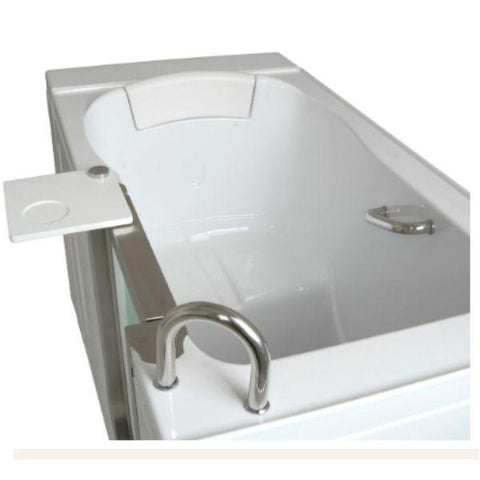 Mobility Bathworks Bathtubs Soaker Mobility Bathworks Acrylic Walk-in Bathtub 3252 Side Top View