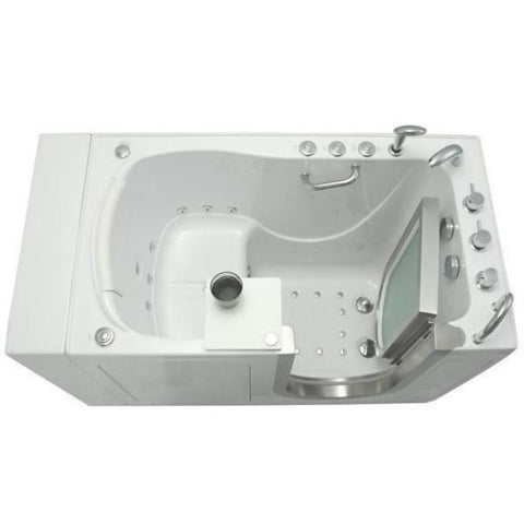 Mobility Bathworks Bathtubs Soaker Mobility Bathworks Acrylic Walk-in Bathtub 3252 Top View