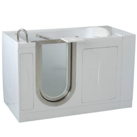 Mobility Bathworks Bathtubs Soaker Mobility Bathworks Acrylic Walk-in Bathtub Front Side View 3252