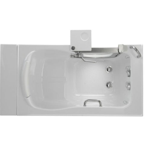 Mobility Bathworks Bathtubs Soaker Mobility Bathworks Acrylic Walk-in Bathtub Top View 3252