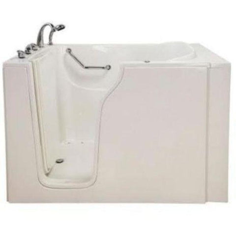 Mobility Bathworks Bathtubs Soaker Mobility Bathworks Elite Walk-in Bathtub 3355 Biscuit Front View