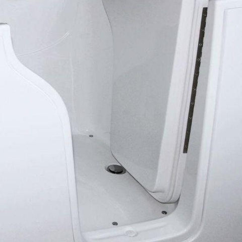Mobility Bathworks Bathtubs Soaker Mobility Bathworks Elite Walk-in Bathtub 3355 Curved Door View