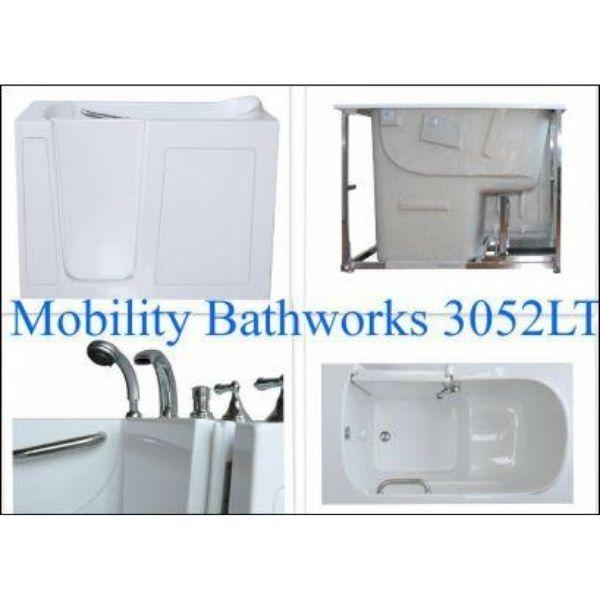 Mobility Bathworks Bathtubs Soaker Mobility Bathworks Elite Walk-in Bathtub 3355 Features View