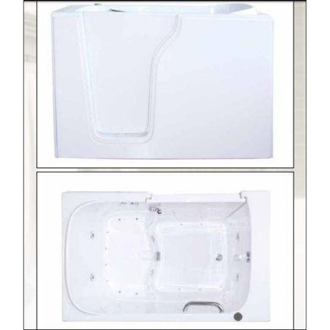 Mobility Bathworks Bathtubs Mobility Bathworks Elite Walk-in Bathtub 3355