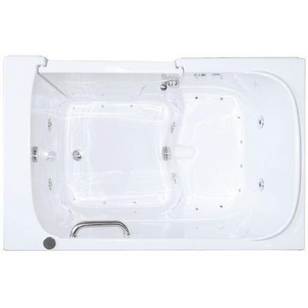 Mobility Bathworks Bathtubs Soaker Mobility Bathworks Elite Walk-in Bathtub 3355 Top View