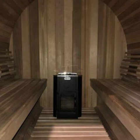 Sauna Core Infrared Sauna sSaunacore Country Living Barrel Infrared Sauna Inside Wood Stove View