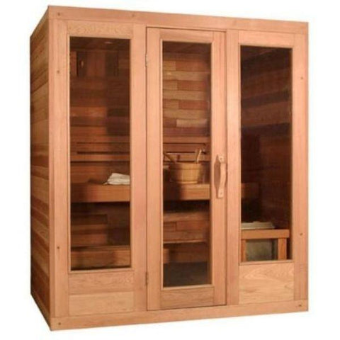 SaunaCore Infrared Saunas Traditional Modular Style Sauna by Saunacore Right View