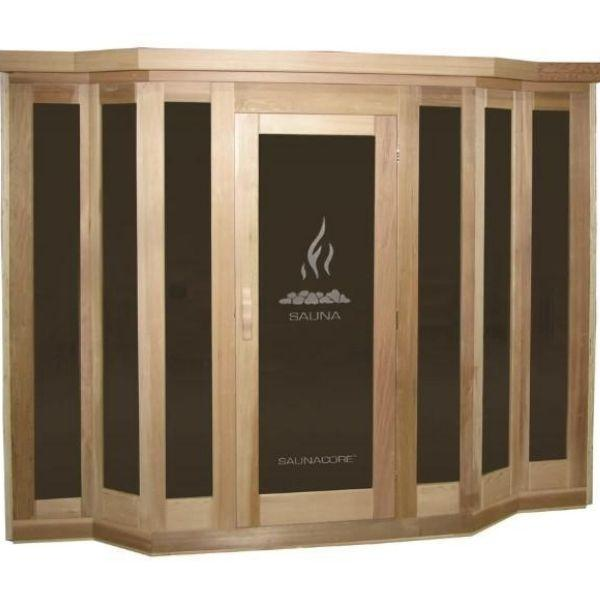 SaunaCore Infrared Saunas Traditional VU Classic Sauna by Saunacore Side View