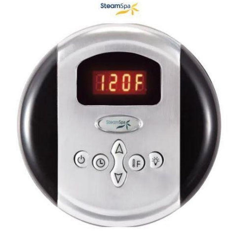 Steam Spa Quick Start Indulgence 10.5K WAcu- Steam Bath Generator IN1050CH  Control Panel View