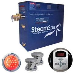 SteamSpa QuickStart Indulgence 10.5 KW Acu-Steam Bath Generator IN1050CH