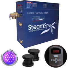 Steam Spa QuickStart Indulgence 10.5KWAcu-Steam Bath Generator IN1050OB Front View