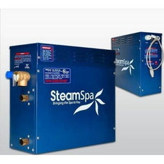 Steam Spa QuickStart Indulgenc e12KW Acu-Steam Bath Generator IN1200BN No Front View