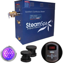 Steam Spa Steam Generators No SteamSpa QuickStart Indulgence 12 KW Acu-Steam Bath Generator IN1200OB