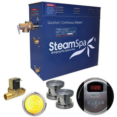 Steam Spa Steam Generators SteamSpa QuickStart Indulgence 10.5 KW Acu-Steam Bath Generator IN1050BN Front View