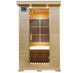 SunRay Evansport 2 Person Infrared Sauna HL200C Front View