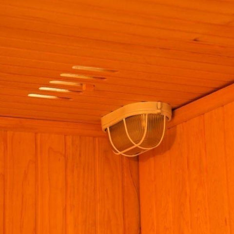 SunRay Traditional Saunas SunRay Tiburon Traditional Sauna HL400SN Adjustable Air Vents View