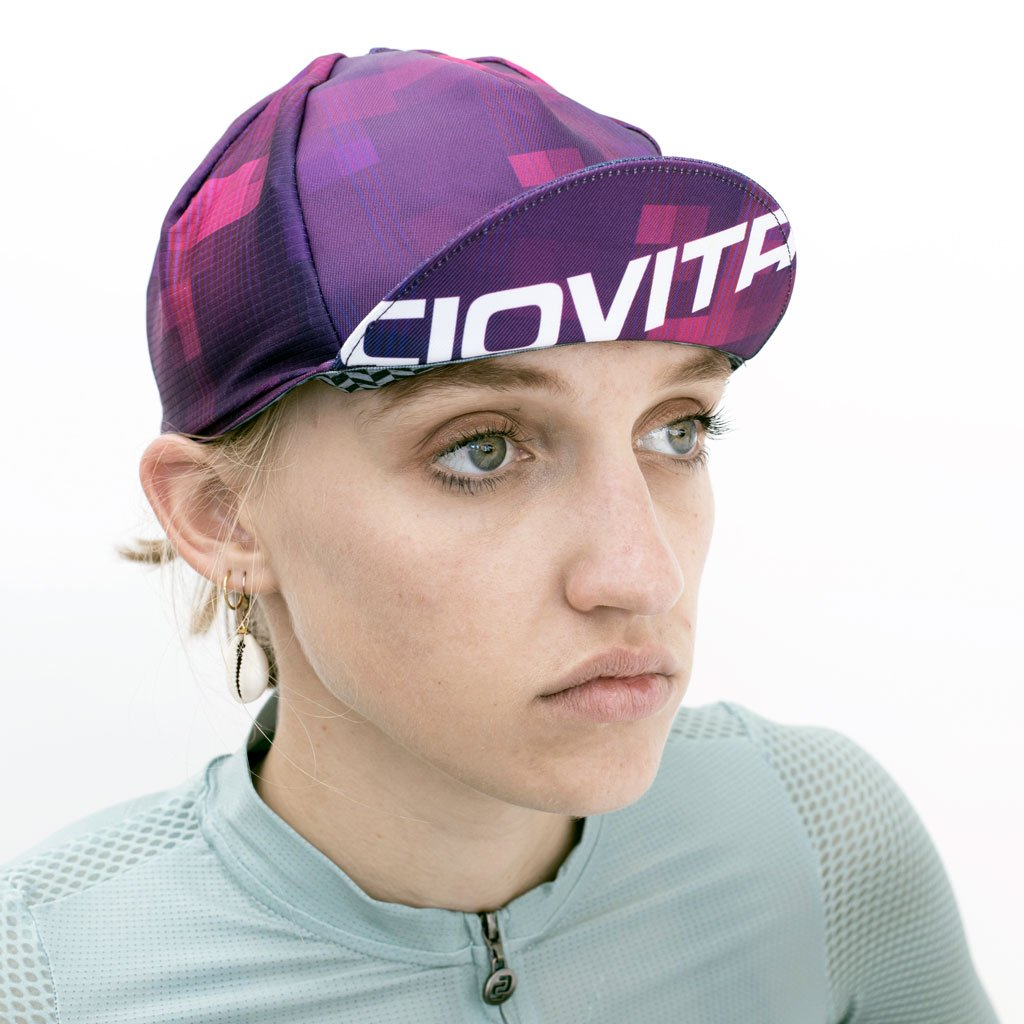 Pixel Pink Cycling Cap (Casquette)