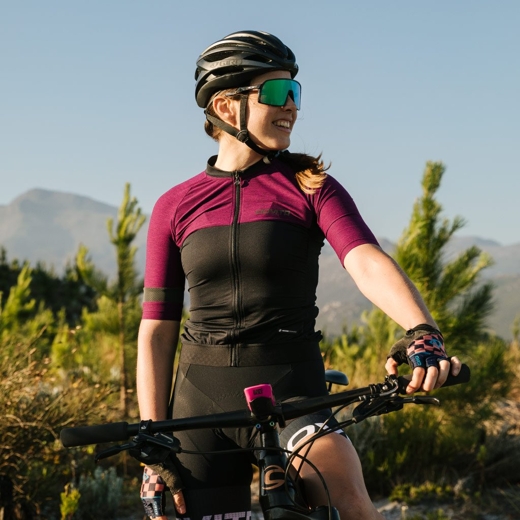 Ladies Opera Race Fit Jersey (Magenta)
