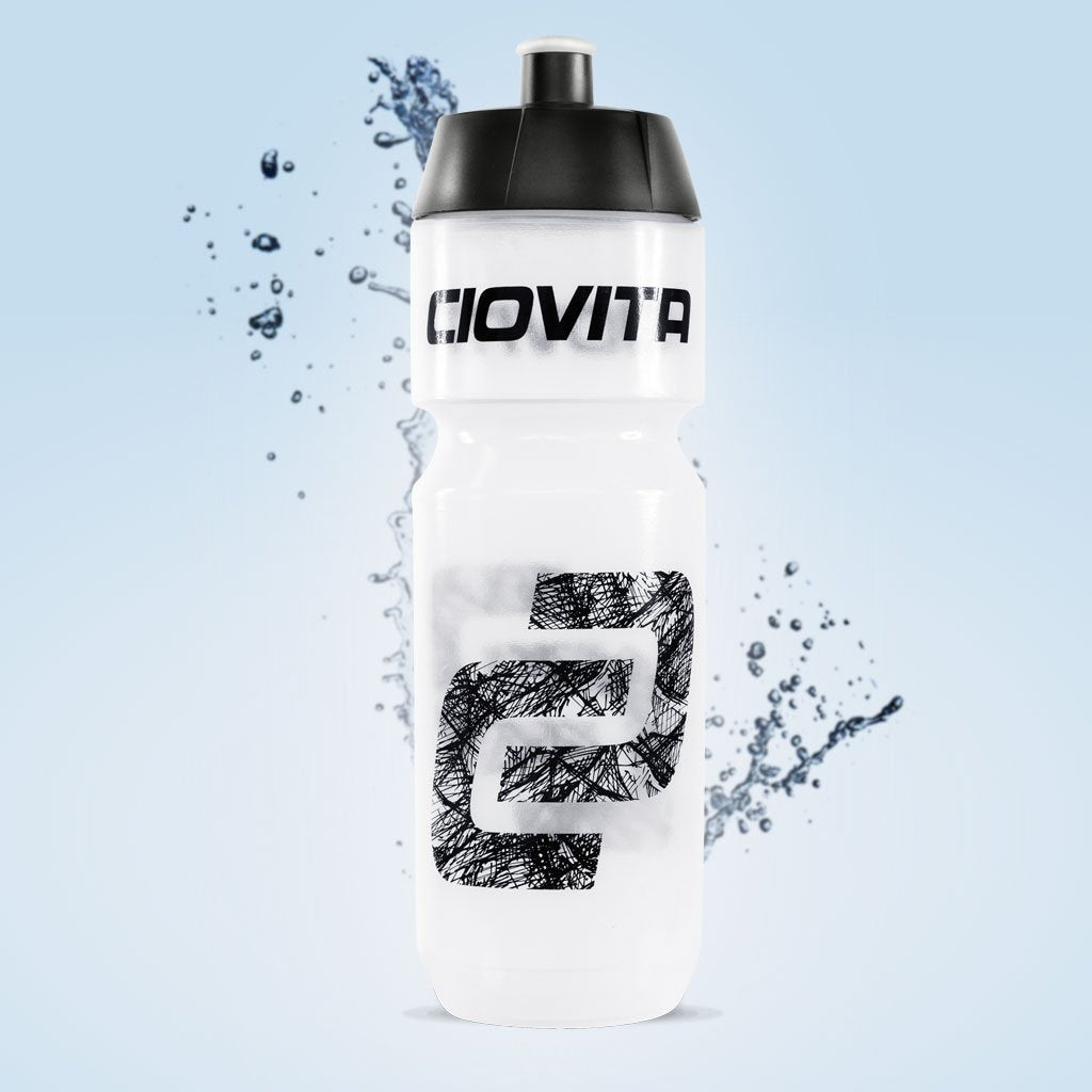 Ciovita branded cycling water bottle