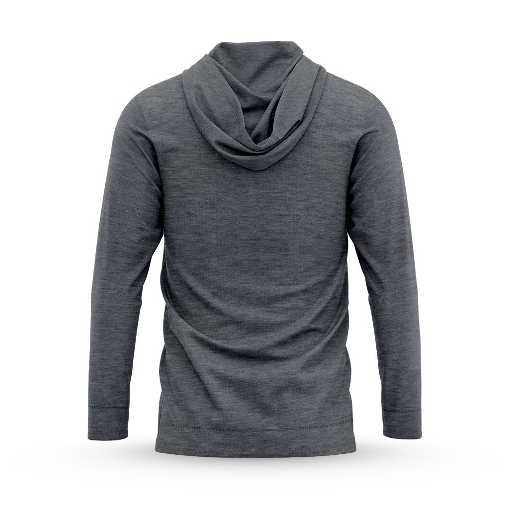 Charcoal Lightweight Hoodie