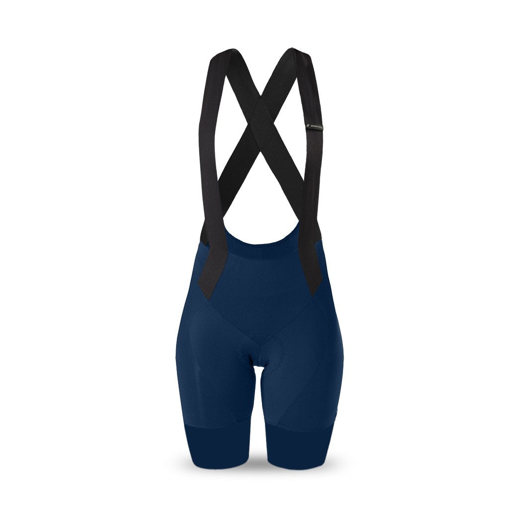 Ladies Supremo Bib Shorts (Navy)