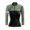 Ladies Opera Long Sleeve Jersey (Olive)