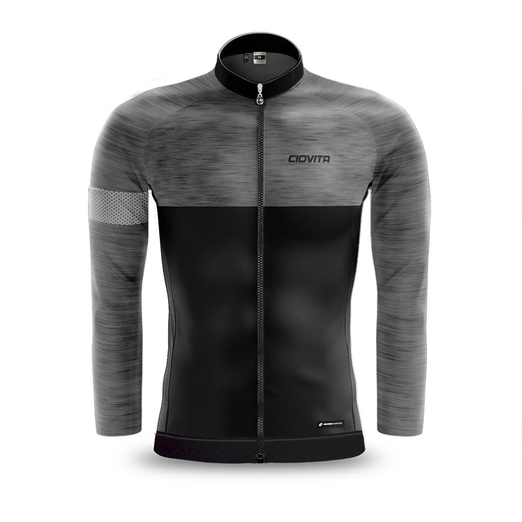 Men's Opera Long Sleeve Jersey (Grey)