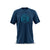 Men's Adventure Cotton T Shirt (Blue)