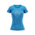 Ladies Blend Blue Melange T Shirt