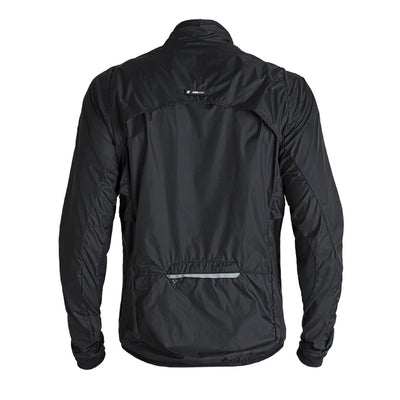 Ladies Venti Black Windbreaker