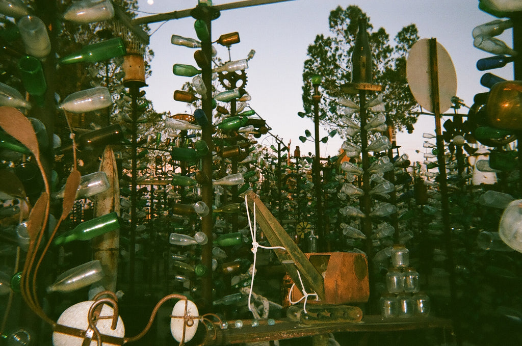 Elmer's Bottle Tree Ranch in Oro Grande California on Route 66