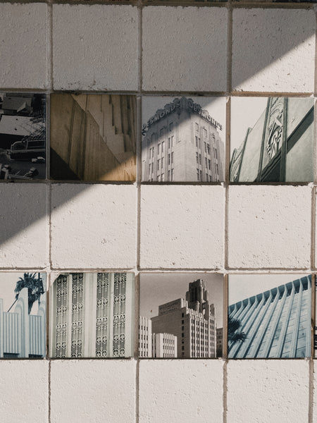 Tiles of Architecture at Pan Pacific Park