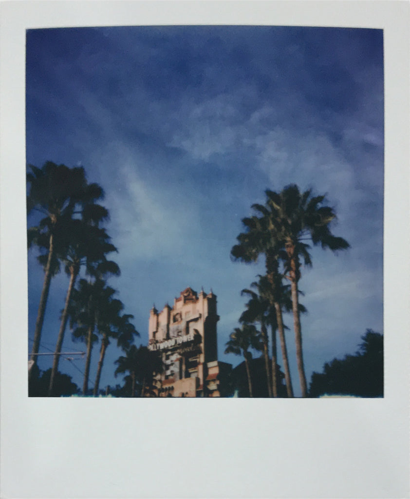 Tower of Terror Hollywood Studios Walt Disney World Polaroid Picture Scan