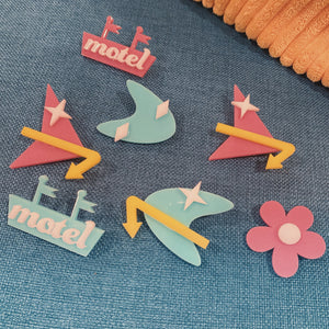 Motel Brooch