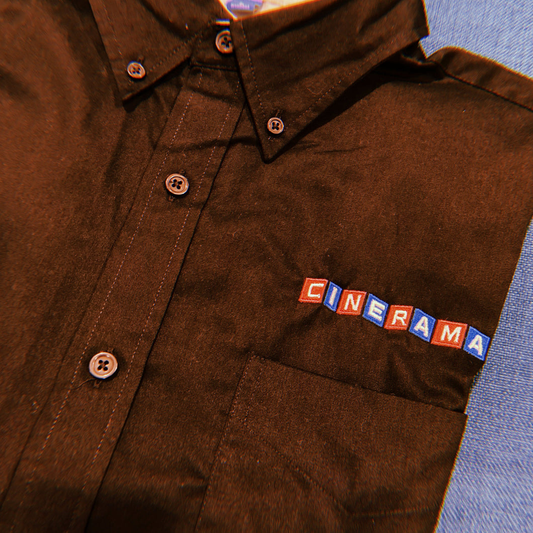 Cinerama Embroidered Button Up