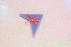 Purple and Pink Starburst Magnet