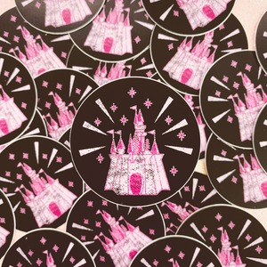 Castle Stickers and Button Set