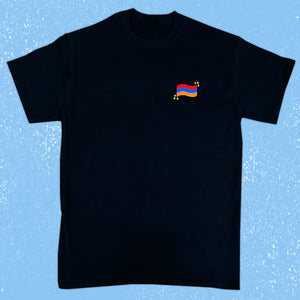 Armenian Flag Embroidered Shirt PRE-ORDER
