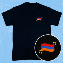 Load image into Gallery viewer, Armenian Flag Embroidered Shirt PRE-ORDER