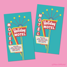 Load image into Gallery viewer, Vintage Retro Las Vegas Holiday Motel Sign Sticker by Merch Motel