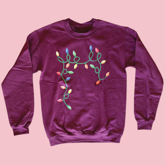 Christmas Lights Sweatshirt