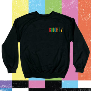Embroidered COLOR TV Sweatshirt