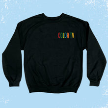 Load image into Gallery viewer, Embroidered COLOR TV Sweatshirt