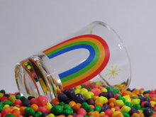 Load image into Gallery viewer, Rainbow Sparkle Shot Glass