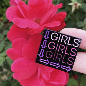 Girls Girls Girls Pin